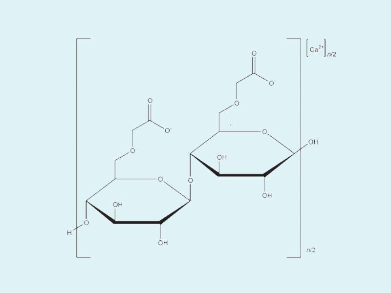 Cấu trúc hóa học của Carboxymethylcellulose Calcium