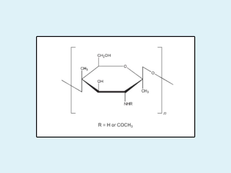 Công thức hóa học của Chitosan