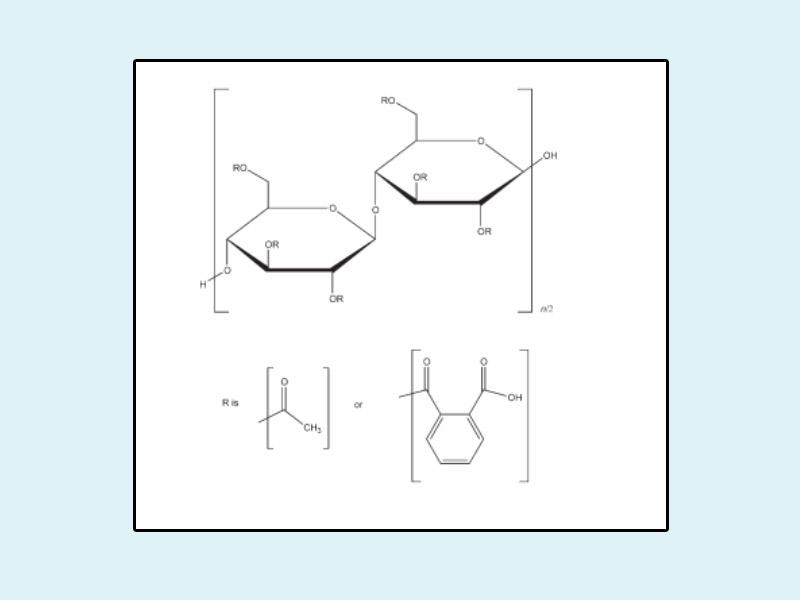 Công thức hóa học của Cellulose Acetate Phthalate