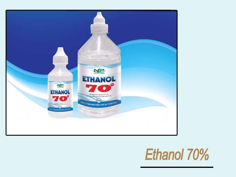 Tá dược Ethanol 70%