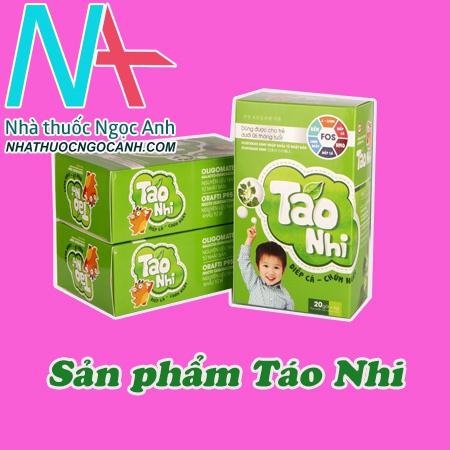 Thông tin về sản phẩm Táo Nhi