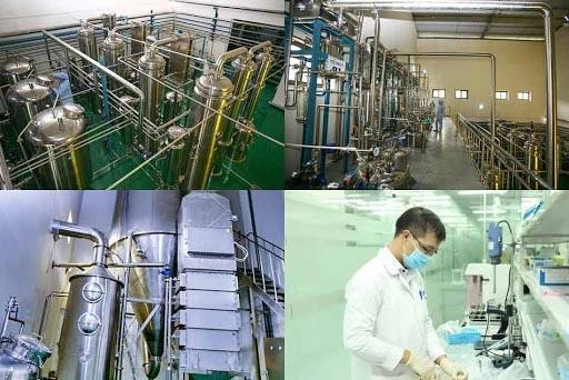 Hệ thống thiết bị sản xuất hiện đại tại Nhà máy của Vimexpharm