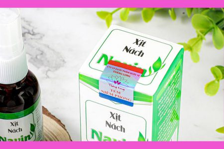 Kiểm tra bao bì, tem, mã vạch là cách để mua được sản phẩm Xịt nách Navin chính hãng