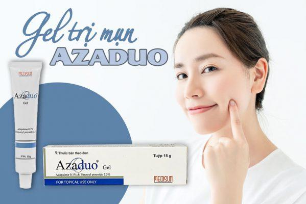 Gel Azaduo trị mụn hiệu quả