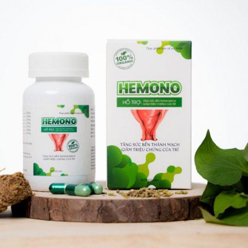 Viên uống Hemono giúp giảm nhanh triệu chứng đau rát do bệnh trĩ