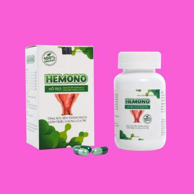 Viên uống Hemono hỗ trợ điều trị bệnh trĩ