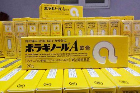 Kem bôi trĩ chữ A của Nhật Bản