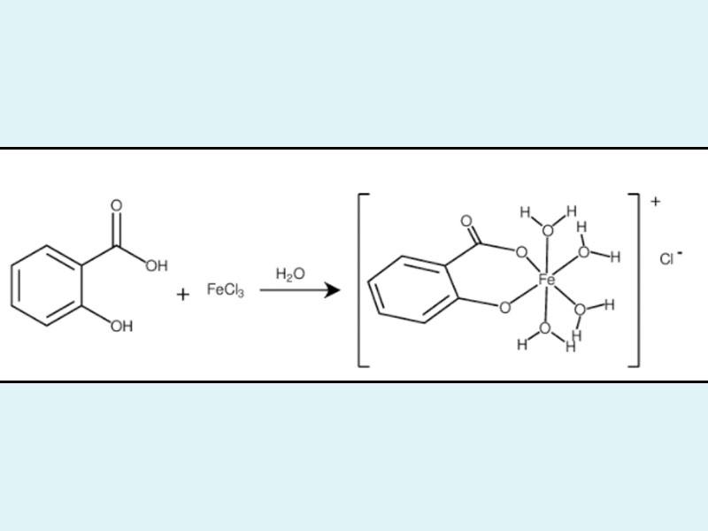 Phản ứng của Aspirin và FeCl3
