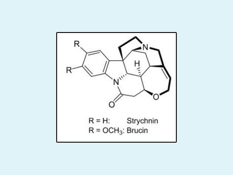 Công thức của Strychnin