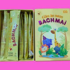 Hình ảnh hộp và gói cốm ăn ngon Bạch Mai