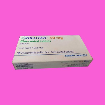 Hình ảnh hộp thuốc Rilutek 50mg nằm ngang