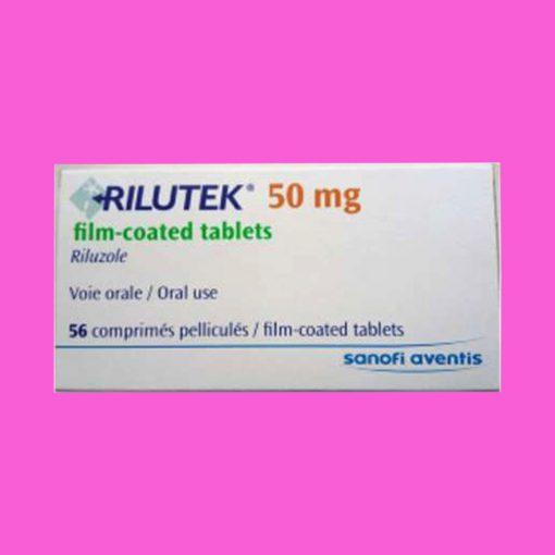 Hình ảnh thuốc Rilutek 50mg mặt trước