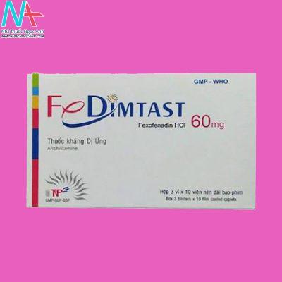Fedimtast là thuốc gì?