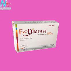 Tác dụng phụ của thuốc Fedimtast