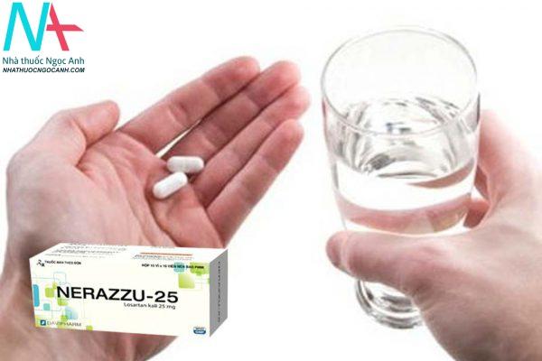 Hướng dẫn sử dụng thuốc NERAZZU-25