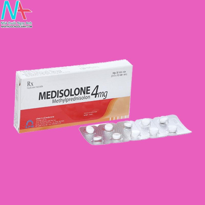 Hình ảnh sản phẩm Medisolone 4mg