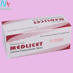 Hình ảnh thuốc Medlicet