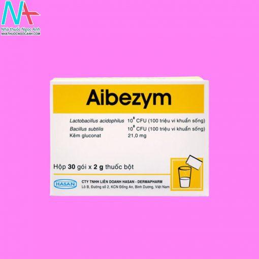 Hình ảnh hộp thuốc Aibezym