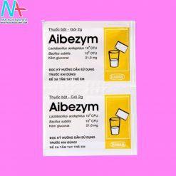 Hình ảnh gói thuốc Aibezym