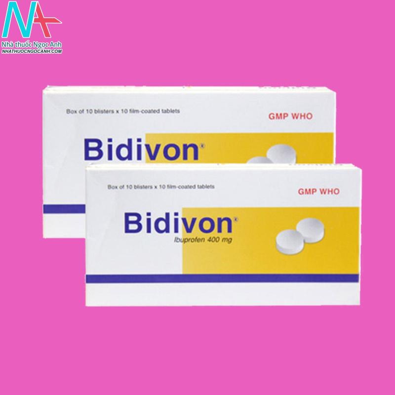 Chống chỉ định với Bidivon