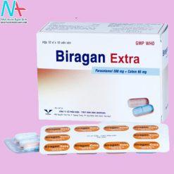 Hình ảnh thuốc Biragan Extra