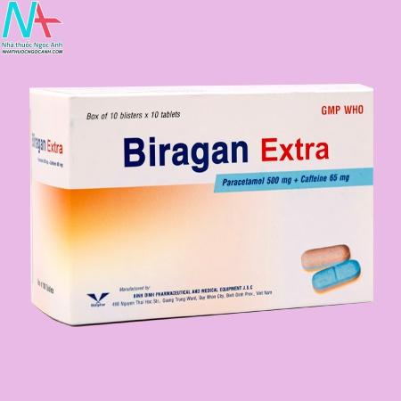 Thuốc Biragan Extra giá bao nhiêu