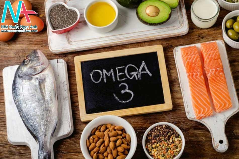 Bổ sung thực phẩm giàu omega-3