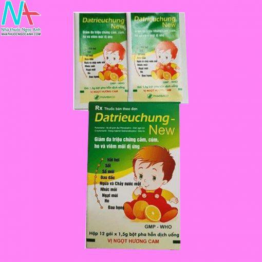 Hình ảnh thuốc Datrieuchung New dạng gói