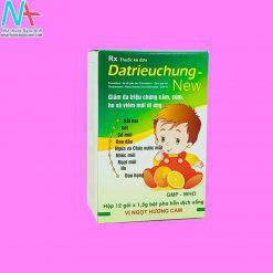 Hình ảnh thuốc Datrieuchung New mặt trước