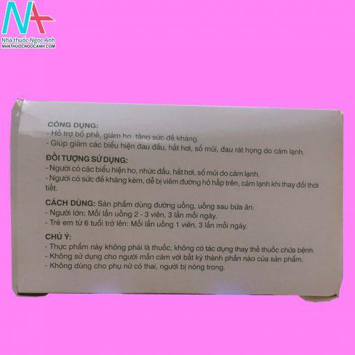 Hướng dẫn sử dụng thuốc Datrieuchung New