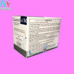 Hình ảnh Gametix M mặt sau