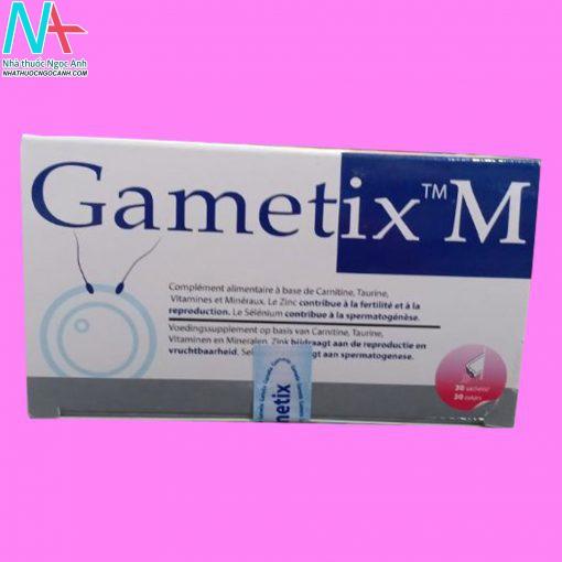 Hình ảnh Gametix M mặt trước