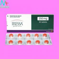 Hình ảnh thuốc Iressa mặt trước