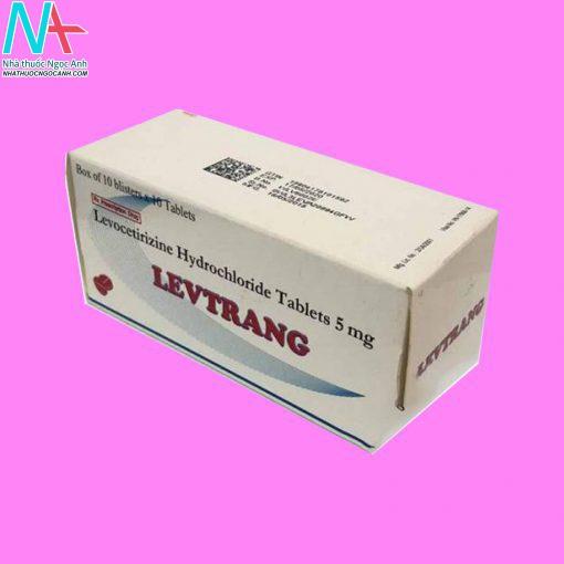 Hình ảnh hộp thuốc Levtrang