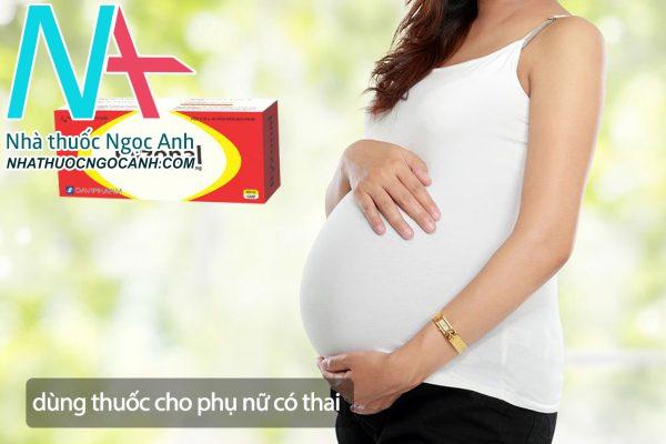 Ryzonal có thể sử dụng cho phụ nữ có thai không?
