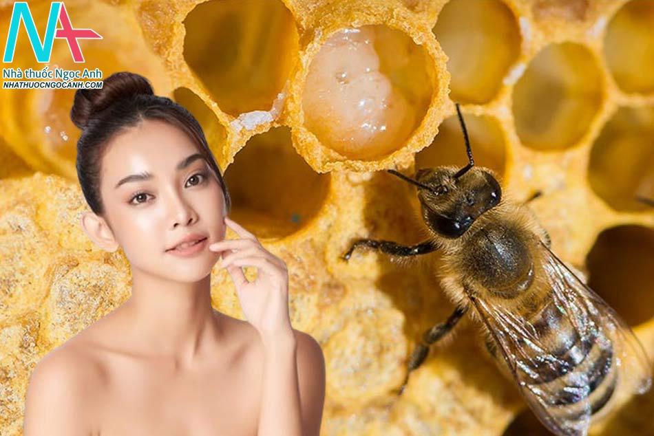 Tác dụng của sữa ong chúa trong việc làm đẹp