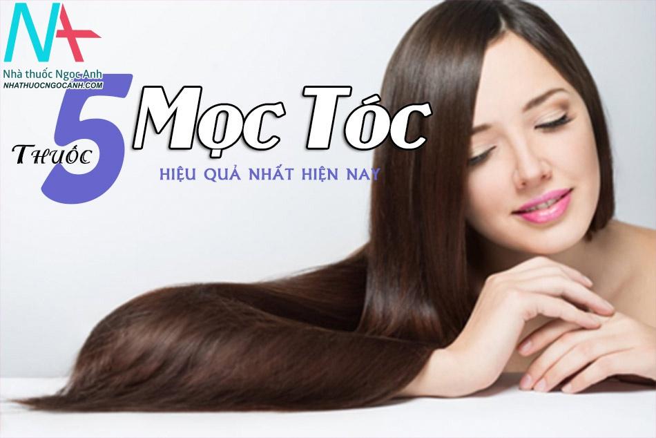 Bật mí 5 thuốc mọc tóc hiệu quả nhất hiện nay