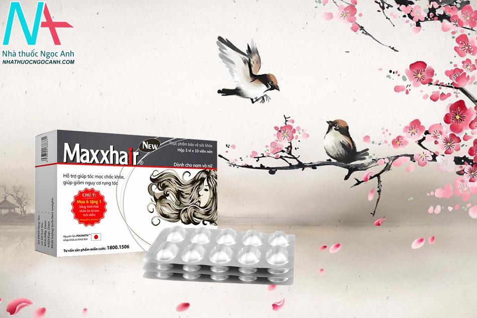 Viên uống Maxxhair – Kích thích mọc tóc