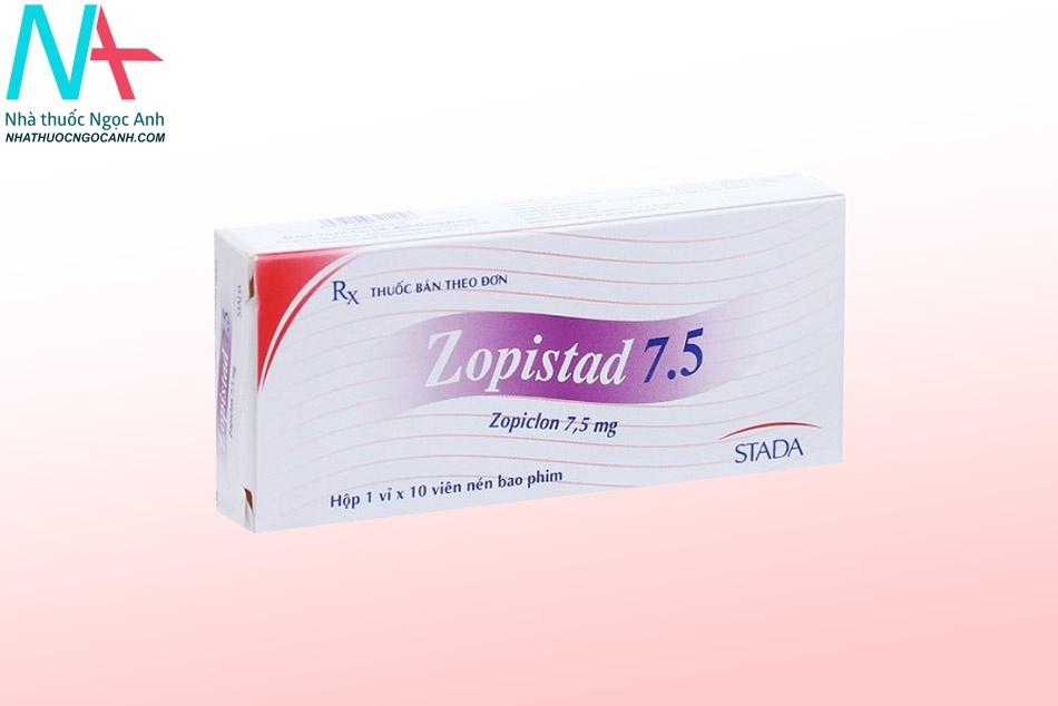 Ảnh: Thuốc ngủ Zopistad 7,5