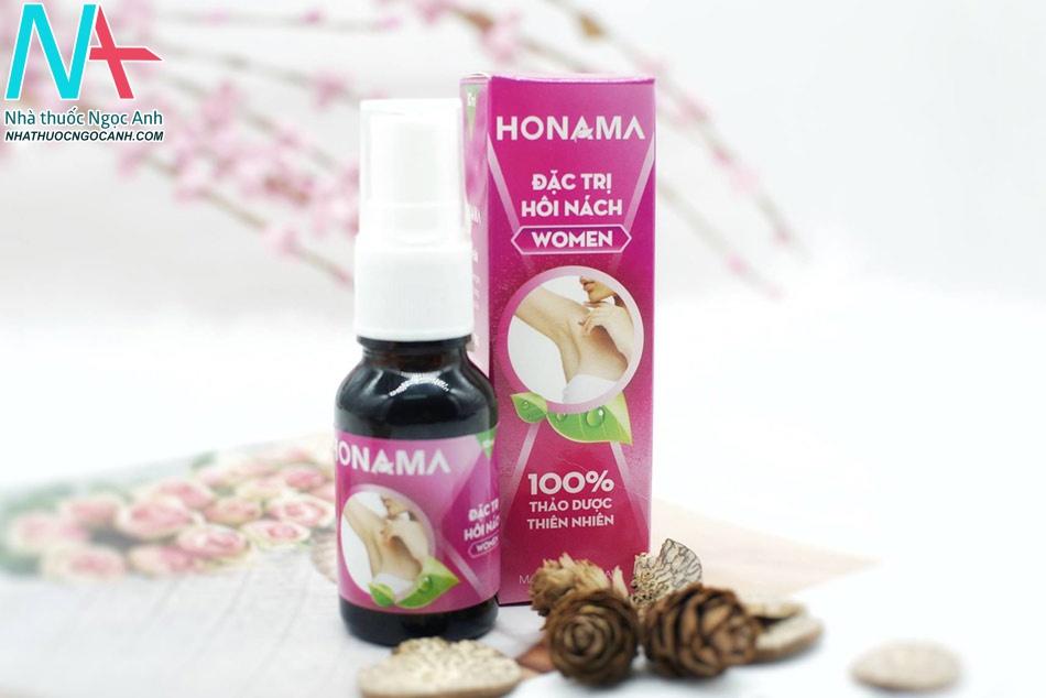 Thuốc trị hôi nách Honama