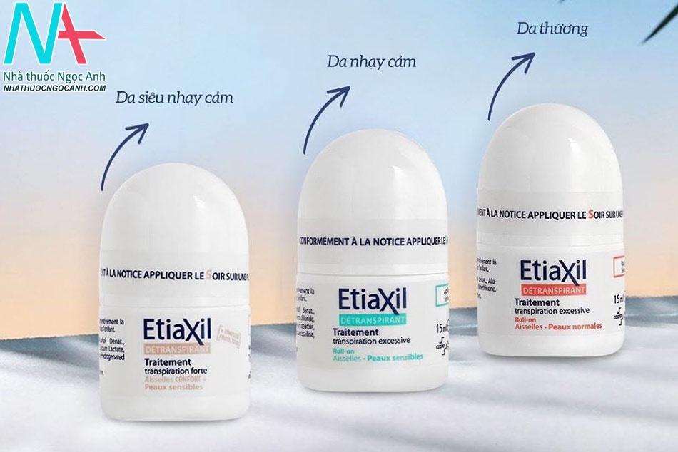 Lăn khử mùi Etiaxil trị hôi nách