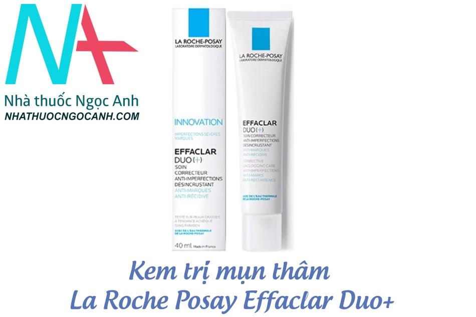 Kem trị mụn thâm La Roche Posay Effaclar Duo+