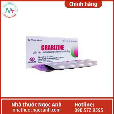 Thuốc Grarizine được bán ở nhiều nơi